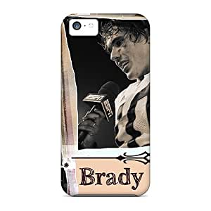 Bernardrmop Iphone 5c Well-designed Hard Case Cover Brady Quinn Protector