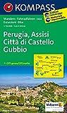 Perugia - Assisi - Città di Castello - Gubbio: Wanderkarte mit Radtouren. GPS-genau. 1:50000 (KOMPASS-Wanderkarten, Band 2464)