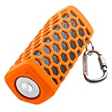 Portable Hi-fi Wireless Bluetooth Speaker Waterproof with Power Bank, Built-in 7000mAh Rechargeable Battery, 20 Hours Playtime, Powerful Surround Hi-fi Sound with Enhanced Bass (Orange)
