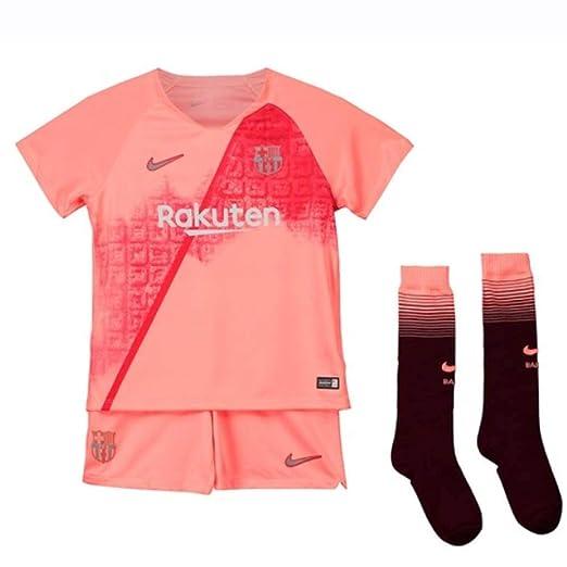 504f37b80b1 Nike 2018-2019 Barcelona Third Little Boys Mini Kit  Amazon.co.uk  Sports    Outdoors