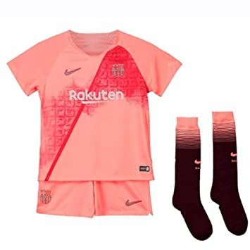 reputable site 6ba9e e2172 Nike 2018-2019 Barcelona Third Little Boys Mini Kit: Amazon ...