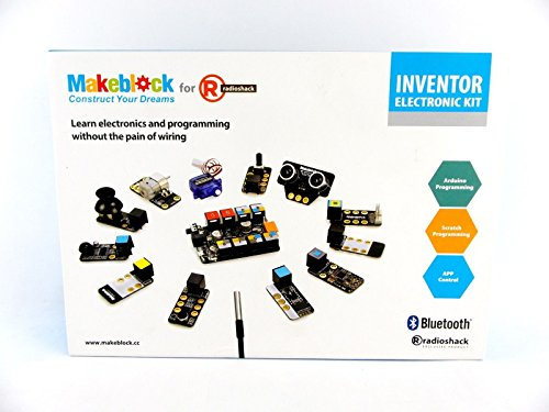 Makeblock Inventor Electronic Kit with Bluetooth for Radio Shack