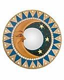 Mosaic Terra Cotta Moon & Star Mirror