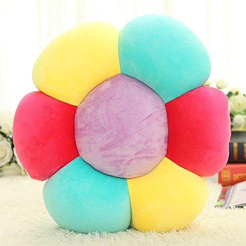 sannix color flores suelo partículas de espuma almohada ...