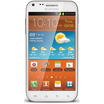 Samsung Galaxy S II, White (Boost Mobile)