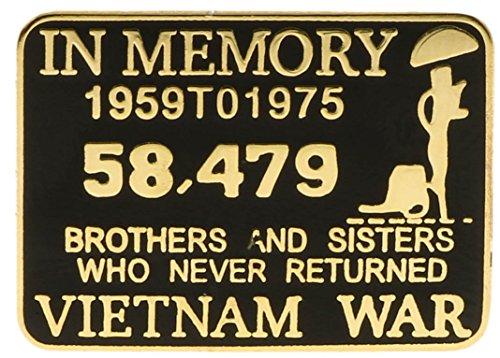 - Sujak Military Items in Memory Vietnam War Hat or Lapel Pin Hon15843