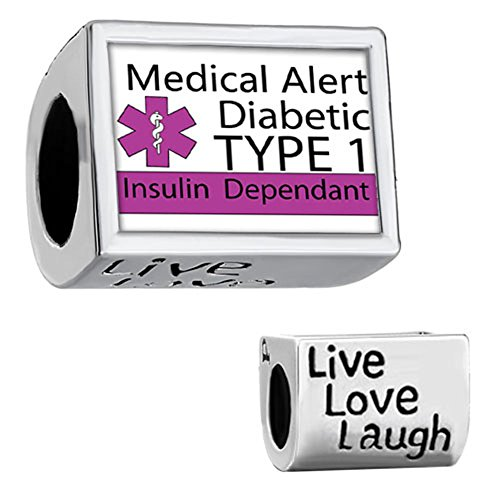 CharmSStory Medical Diabetic Silver Plated