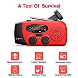 Esky [Upgraded Version] Portable Emergency Weather