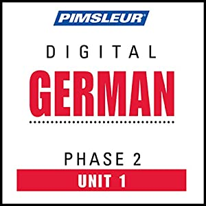 German Phase 2, Unit 01 Audiobook