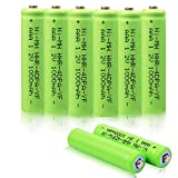 AAA Battery for Panasonic, VANON 1000mAh HHR-4DPA Replacement Battery for Panasonic, 1.2V Ni-MH Rechargeable Cordless Phone Battery, Pack of 8