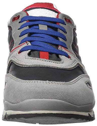 Geox Herren U Sandford B ABX A Sneaker, Grau (Stone/Dk Grey), 44 EU
