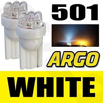 H7 Super Xenon White 499 477 Upgrade Head Lamp Bulbs 12v 501 Sidelights