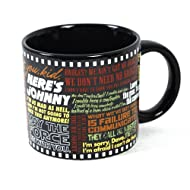 Classic Movie Coffee Mug - The Most Famous Lines from Your Favorite Movies - From Star Wars to The Wizard Of Oz - Comes in a Fun Gift Box - by The Unemployed Philosophers Guild