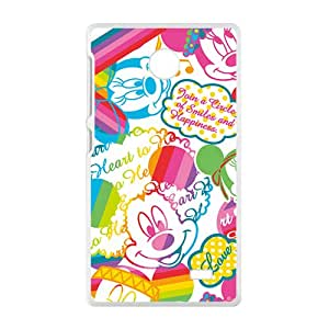Disney Mickey and Minnie Case Cover For Nokia Lumia X