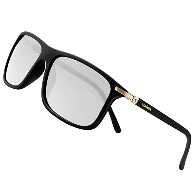 2414ce015fb Image Unavailable. Image not available for. Color  CADIROZ Polarized  Sunglasses for Men Driving ...