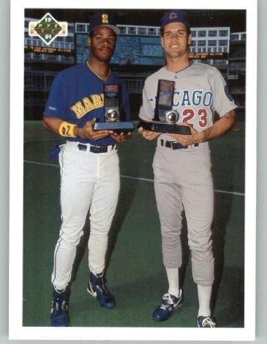 1991 Upper Deck Final Edition #79F Ken Griffey Jr. / Ryne Sandberg CL 1991 Upper Deck Final Edition