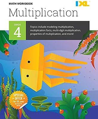 IXL Math Workbook: Grade 4 Multiplication: IXL Learning