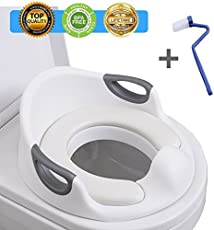 f6ea543de50 Potty Training Seat For Kids Toddlers Boys Girls Toilet Seat For Baby ...