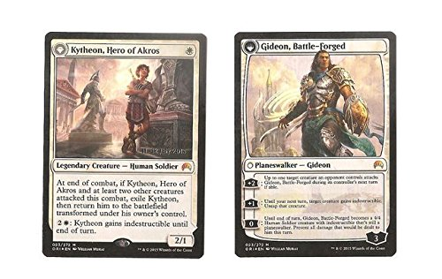 (Magic: the Gathering - Kytheon, Hero of Akros // Gideon, Battle-Forged (023/272) - Prerelease & Release Promos - Foil)
