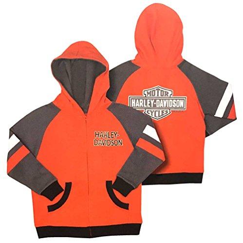 Zippered Boys Sweatshirt - 6