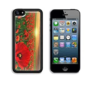 MMZ DIY PHONE CASEPoppy Field under Sunset Apple ipod touch 5 Snap Cover Case Customized Made to Order Support Ready Premium Aluminium Deluxe Aluminium 5 inch (125mm) x 2 3/8 inch (62mm) x 3/8 inch (12mm) Liil ipod touch 5 Professional Cases Touch Accessories Graphic Covers Designed Model Folio Sleeve HD Template Designed Wallpaper Photo Jacket Wifi 16gb 32gb 64gb Luxury Protector Wireless Cellphone Cell Phone