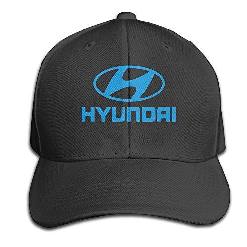 bacadi-unisex-hyundai-logo-adjustable-peaked-baseball-caps-hats-duck-tongue-hat