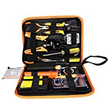 Jakemy Portable 17 in 1 Professional Network Maintenance Repair Tools Kit Set