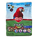 Kaytee KY47626 Exact Rainbow Large Parrot Chunky Premium Daily Diet, 4-Pound