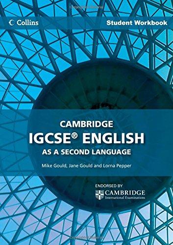 Cambridge IGCSE English as a Second Language Student Workbook (Collins IGCSE English as a Second Langua)|-|0007456891