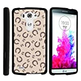 LG G3 Phone Case, Perfect Fit Cell Phone Case Hard Cover with Cute Design Patterns for LG G3 (D850, D851, D855, VS985, LS990, US990) by MINITURTLE - Horse Shoe Pattern