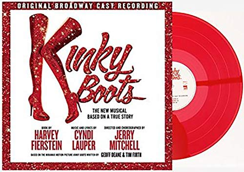 Kinky Boots (Original Broadway Cast Recording) - Exclusive Limited Edition Red Colored 2x Vinyl LP [Condition-VG+NM]