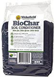 Wakefield Biochar Soil Conditioner - 1 Gallon Bag - 100% Biochar - Low Dust - USDA Certified
