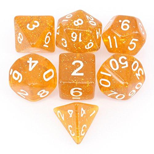 アイディアおもちゃ7個 ダイス クトゥルフ ボードゲーム カードゲーム用 ダイス セット サイコロ 64