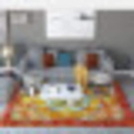 Amazon.com: LJ&XJ Moderno Resumen Arte Alfombra, Norte ...