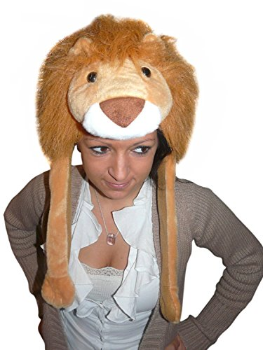 Fantasy World Adults Lion Hat Cap One Size F91