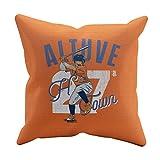 500 LEVEL Jose Altuve Houston Baseball Pillow - Jose Altuve Arch