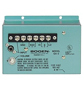 bogen ga2 utility amp amazon co uk electronics rh amazon co uk