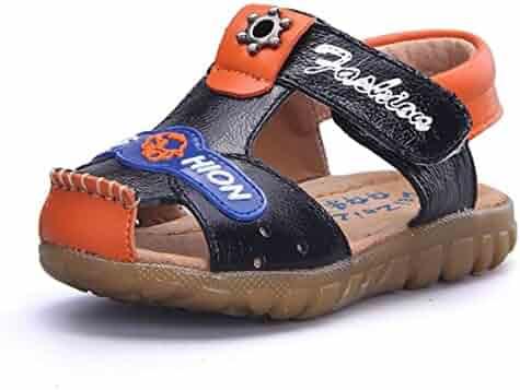 2e0079c1b54 BININBOX Summer Breathable Sandals Girl Boys Toddler Kid Shoe Athletic Hoop