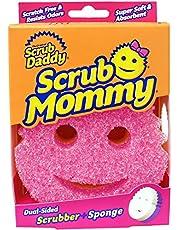 Dubbelzijdige Textuur Veranderende Sponge/Scrubber Keukenspons - Super Absorberende Spons Side - Scrub Mommy by Scrub Daddy (Roze)