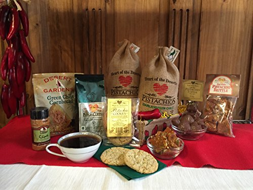 New Mexico True Basket from Eagle Ranch, Heart of the Desert Pistachios and Wines, Alamogordo, New Mexico