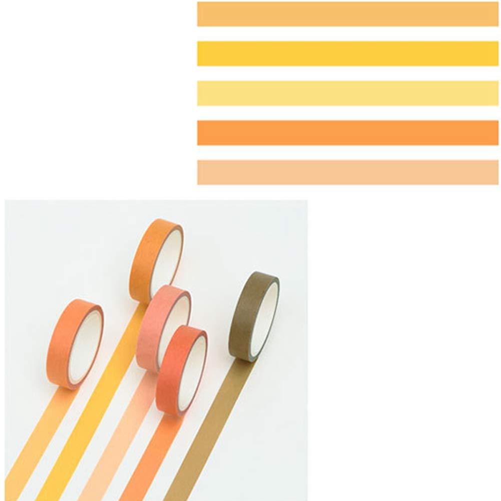 Bainuojia Washi Tape Ruban adhésif décoratif Multicolore Motif Multicolore 1