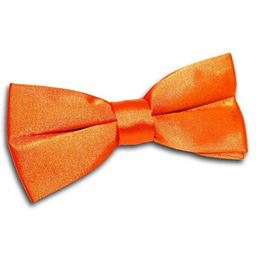 Pre Wedding Tuxedo DQT Plain Orange Bow Men Tie Satin Tied Burnt qTnXOt