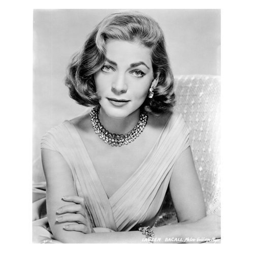 Lauren Bacall 8 x 10 Photo To Have and Have Not The Big Sleep headshot
