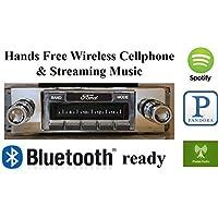 Bluetooth Enabled 1970-1971 Ford Torino USA-630 II High Power 300 watt AM FM Car Stereo / Radio USB, Aux, iPod inputs
