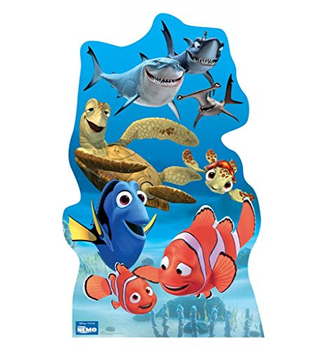 [Finding Nemo Group - Disney Pixar's Finding Nemo - Advanced Graphics Life Size Cardboard Standup] (Disney Group Costumes Ideas)