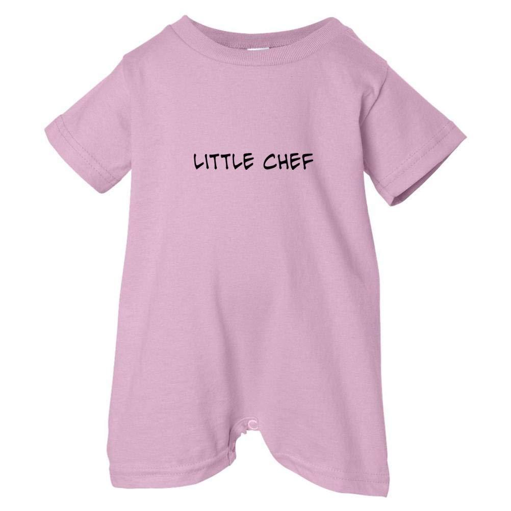 Pink, 18 Months T-Shirt Romper Tasty Threads Unisex Baby Little Chef Black Print