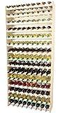 Modo24de étagère à vin en bois 135 pour bouteilles - 135 massif !