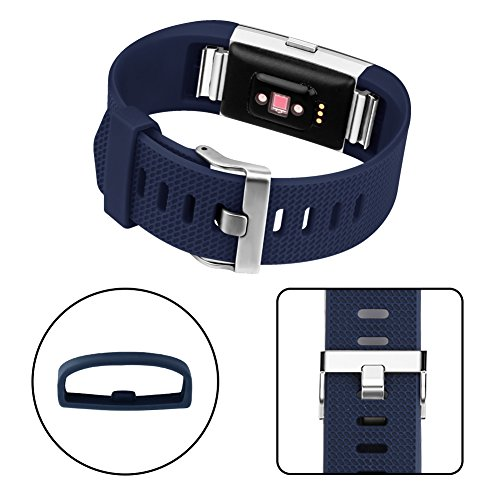 Vancle Fitbit Charge 2 Bands, Adjustable Comfortable Replacement Strap for Fit bit Charge 2 (No Tracker)