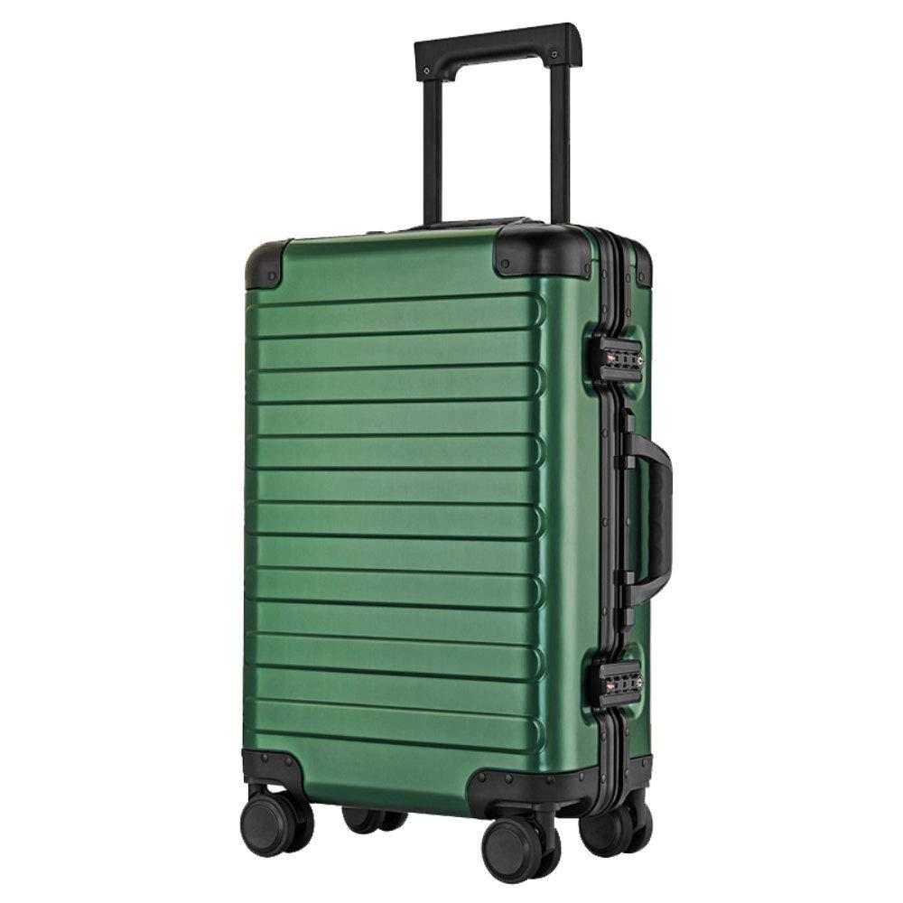 TLMYDD 荷物トロリートロリーユニバーサルホイールアルミフレームスーツケース20インチビジネス搭乗パスワードスーツケース トロリーケース (Color : Gray, Size : 20 inch) B07SXFSYK2 Gray 20 inch