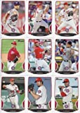 2013 Washington Nationals Bowman MLB Baseball Complete Mint 9 Card Team Set with Bryce Harper and More